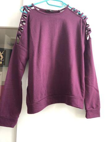Bluzka fioletowa
