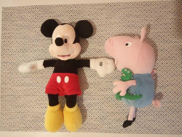 Микки Маус Джордж GEORGE PEPPA PIG мягкая игрушка оригинал