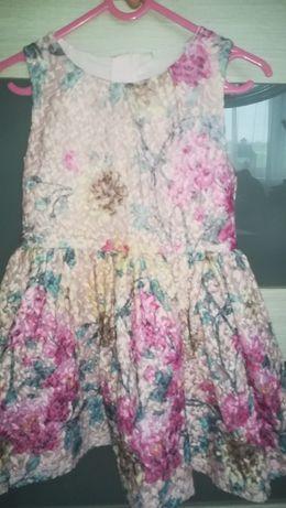 Piękna Sukienka w kwiatki NEXT roz. 110-116