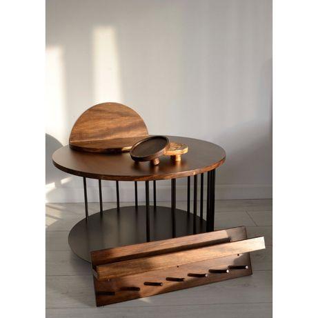 Stolik kawowy, wieszak ścienny, półka wisząca, podstawka
