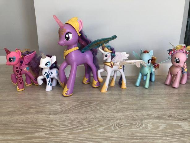 Duzy zestaw konikow My Little Ponny