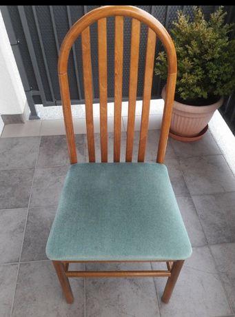 Krzesła drewniane dwie sztuki