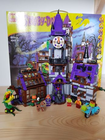 Конструктор Bela Skooby Doo Скуби Ду, Аналог Lego Лего