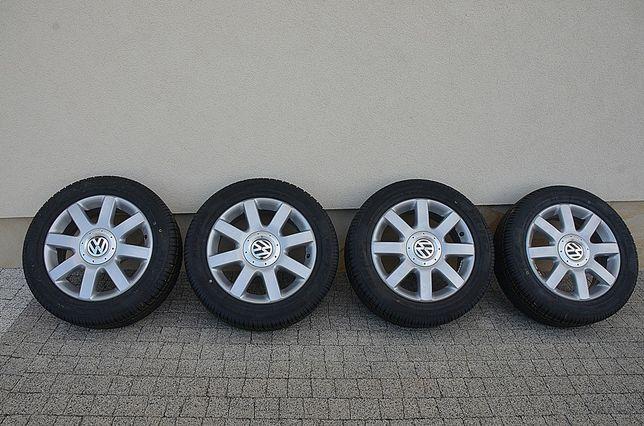 Felgi Aluminiowe z nowymi oponami VW 1KO601025Q GOLF V,TOURAN,JETTA