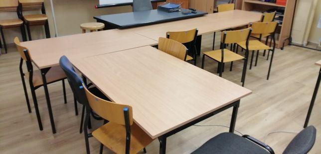 stolik / biurko / ławka szkolna pod komputer - 18szt.