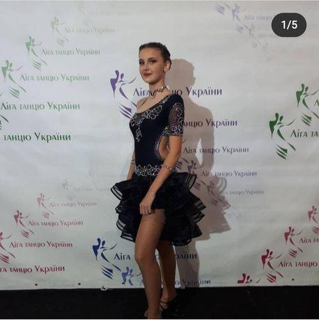 Платье латина танцевальное