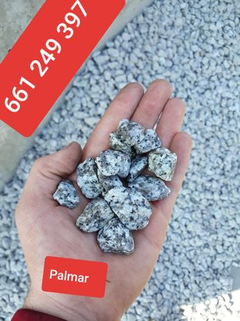 Grys granitowy strzegomski płukany bez rudego 16-22 pieprz sola 8-16