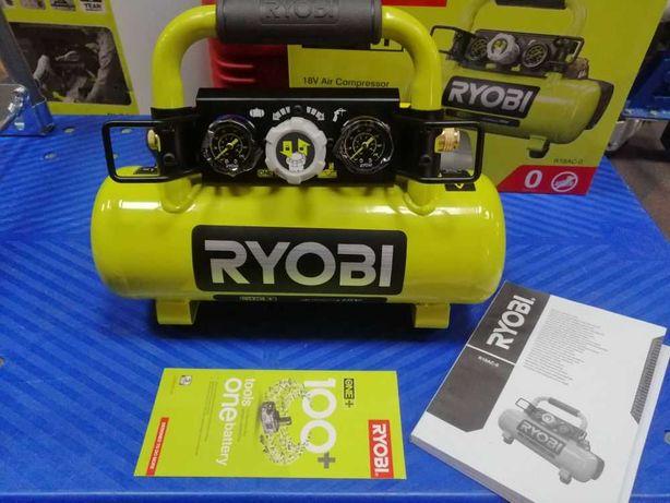 Kompresor akumulatorowy Ryobi R18 AC-0