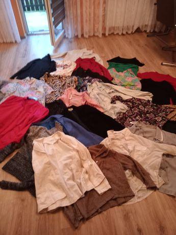 Mega paka ubrań damskich około 50sztuk plus gratisy typu obrusy itd