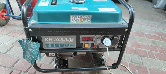 Газобензиновий генератор «Könner & Söhnen» - KS 3000G