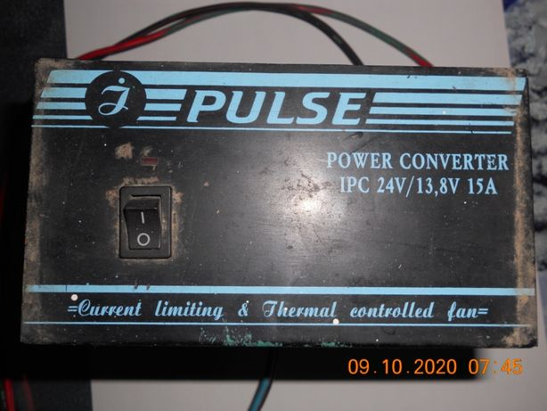 преобразователь 24 в 12 вольт\ по грамотному силовой конвертер\