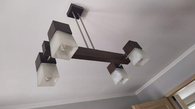 Lampa i żyrandol