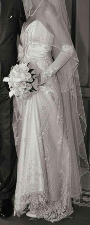 Платье свадебное, после химчистки