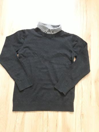 Świetny sweter 2w1 dla 9,5-10,5 letniego chłopca w rozm.140