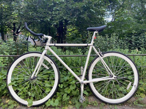 Шоссейный велосипед, фикс, fixed.