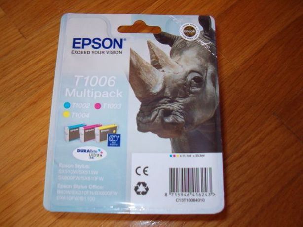 Tinteiros Epson T1006 - Multipack NOVO