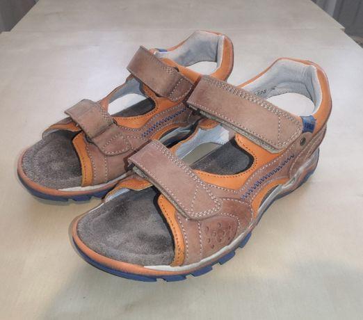 TSM roz. 32 (20,5 cm) Skórzane sandały dziecięce