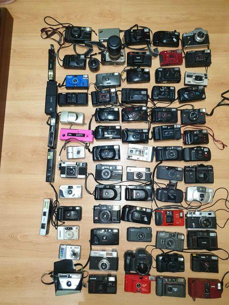 Lote de câmaras analógicas para peças (quase todas a 10€)
