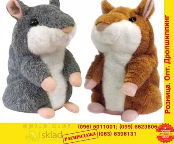Говорящий хомяк повторюшка Mimicry Pet Toys woody o'time говорун