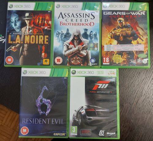 Jogos Xbox 360 - Vários