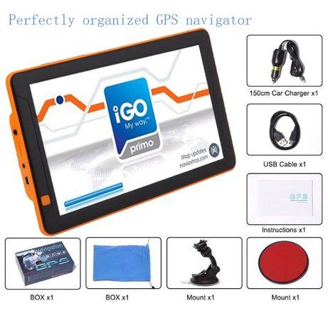 GPS Camião / 9 polegadas ecran Profissional Novos IGO PRIMO 2020-