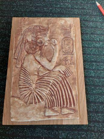 Фреска новодел египетская тематика
