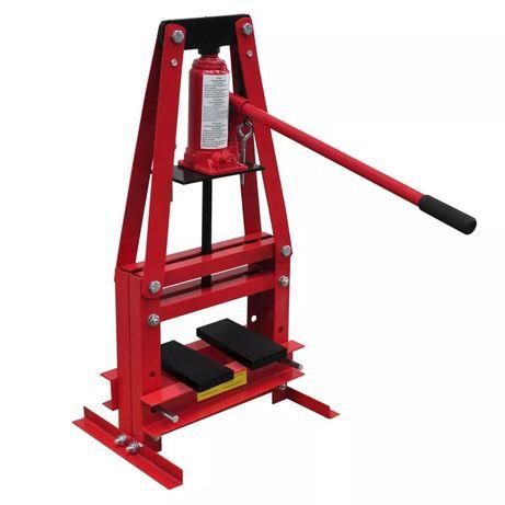 vidaXL Prensa Hidraulica de Trabalho Pesado 6 Toneladas 140207