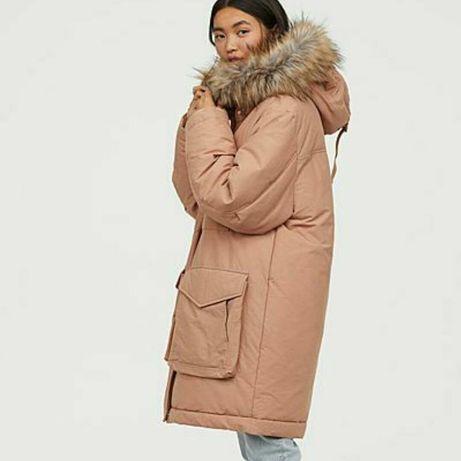 Зимнее пальто пуховик H&M