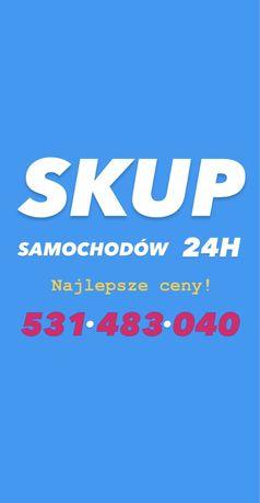 SKUP AUT Samochodów 24H Oleśnica 100km / Kasacja Pojazdów / Złomowanie