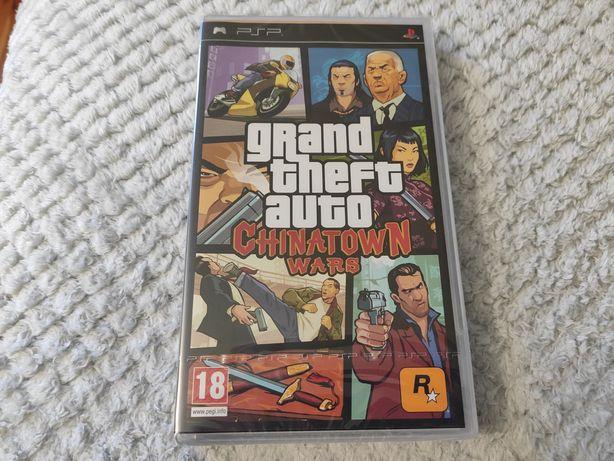 GTA Chinatown Wars PSP Nowa Folia