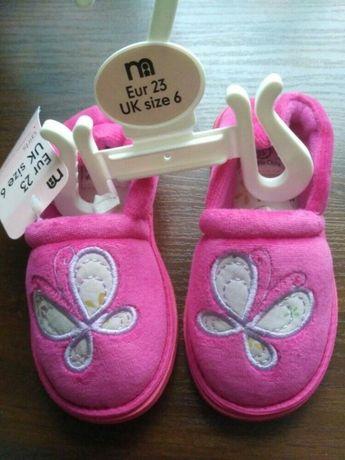 Акция туфельки и тапочки из англии 20,23 размер