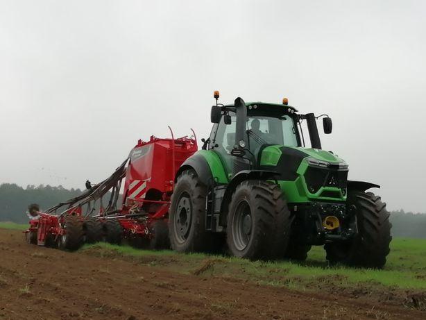Usługi rolnicze - Siew bezorkowy zbóż/Kukurydzy/Koszenie łąk/ Orka/