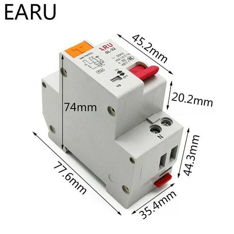 Дифавтомат EARU 16А