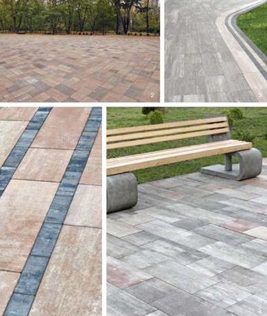Тротуарная плитка - Лайнстоун-60
