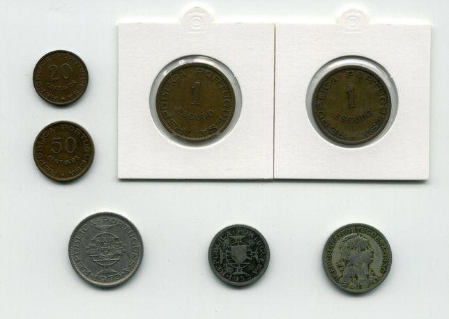 7 moedas das ex-colónias
