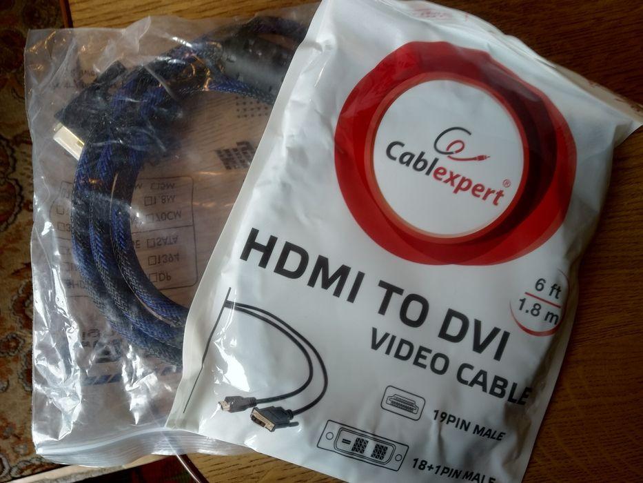 кабель DVI to HDMI 1.5м-1.8м Донецк - изображение 1