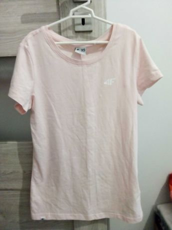 Nowa koszulka bluzka jasno rózowa 4F r. XS