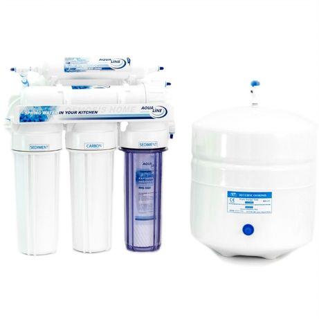 Фильтры для очистки воды. Купить фильтр для воды Aqualine RO6