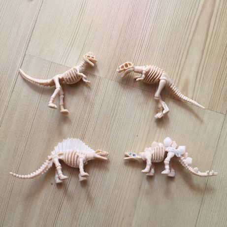 Динозавры скелеты 5 см