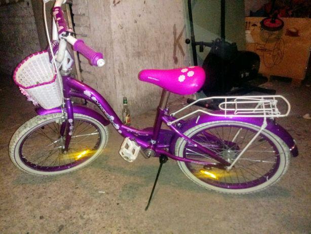 Rower dla dziewczynki na 20 calowych kołach