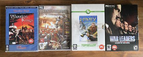 Gry PC startegiczne Heroes V / Praetorians / War Leaders