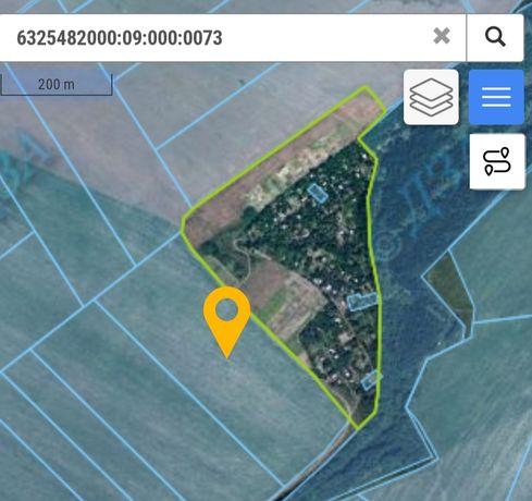 Продам земельный участок 8.372 и 6.5076