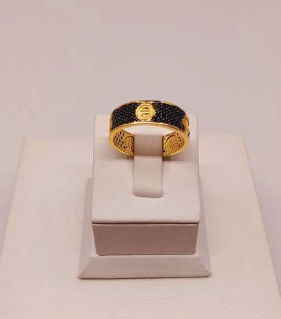 Złoto Złoty pierścionek próba 585 waga 4.15 gr
