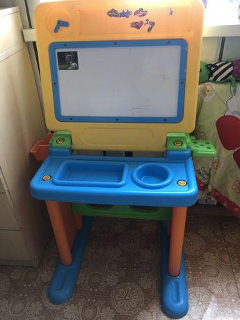 Стол детский столик для творчаства