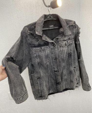 Стильный джинсовый пиджак джинсовка