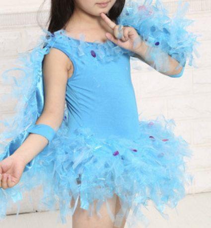 Платье-купальник для девочки, 116-122