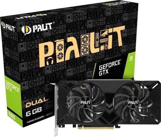 Karta graficzna Palit GeForce GTX 1660 Dual 6GB GDDR5