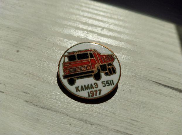 Wpinka odznaka KAMA3 KAMAZ lata 70