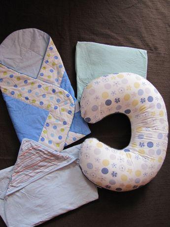Rogal do karmienia rożek Motherhood ręcznik Mariquita - zestaw 4 szt.