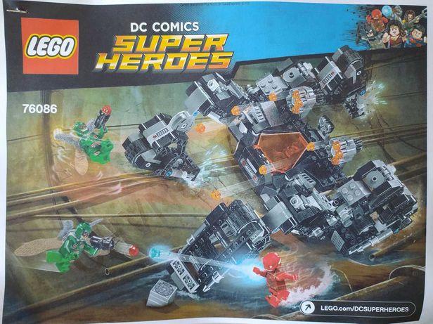 Lego 76086 Justice League Knightcrawler Tunnel Attack